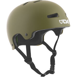 TSG Evolution Solid Color Helmet satin olive satin olive