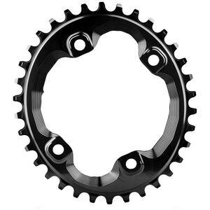 absoluteBLACK Ovales Kettenblatt 96 BCD für Shimano XT black black