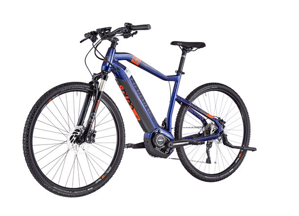 HAIBIKE SDURO Cross 5.0 Herren blue/orange/titan