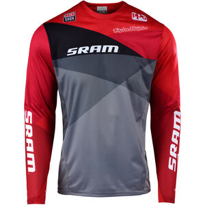 Troy Lee Designs Sprint LS Jersey Herren sram jet/gray/red sram jet/gray/red