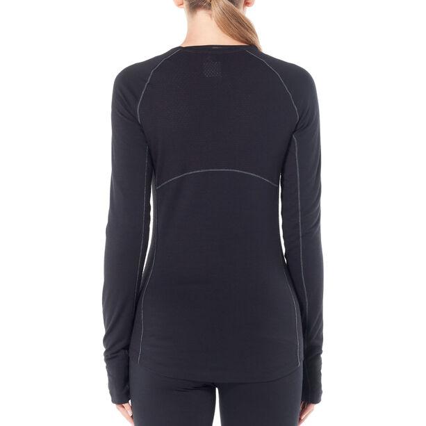 Icebreaker 200 Zone Langarm Rundhalsshirt Damen black