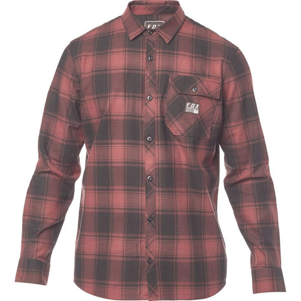 Fox Voyd Flannel Shirt Herren bordeaux