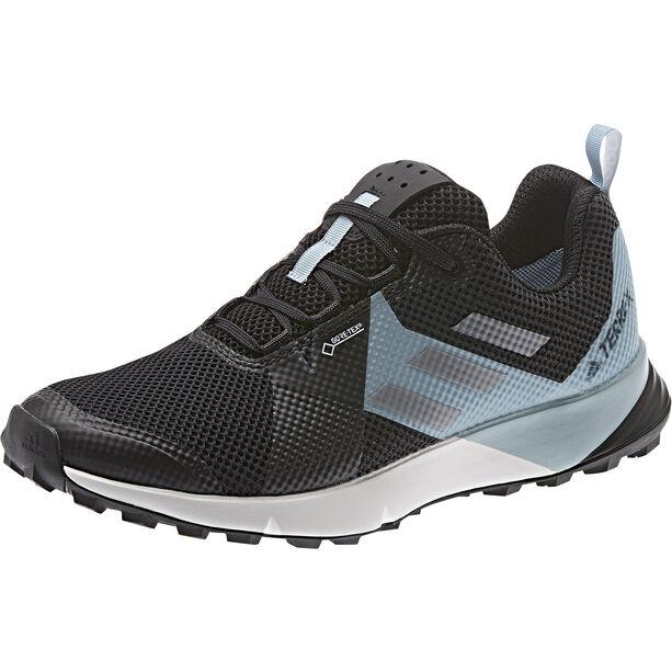 adidas TERREX Two GTX Low-Cut Schuhe Damen core black/grey three/ash grey