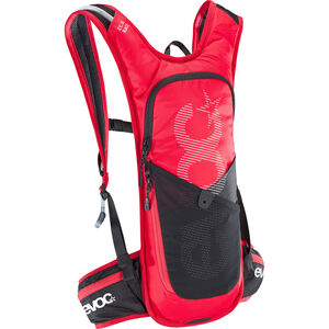 EVOC CC Race Lite Performance Backpack 3l + 2l Bladder red/black red/black