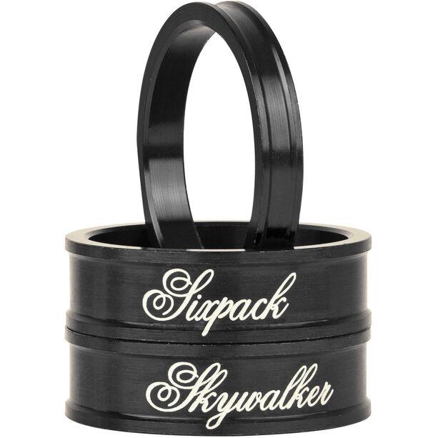 "Sixpack Skywalker Spacer 1 1/8"" black"
