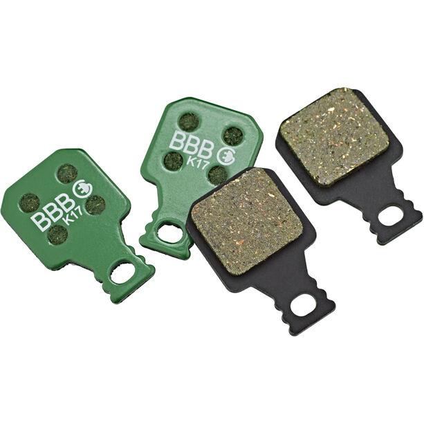 BBB DiscStop E-Bike BBS-372E Bremsbeläge green