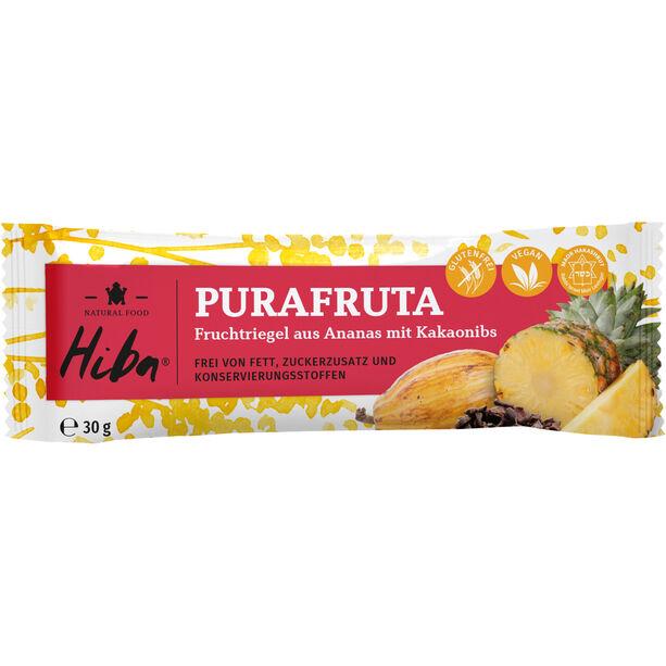 Hiba Purafruta Energie-Riegel Box 12x30g Pineapple/Cocoa Nibs