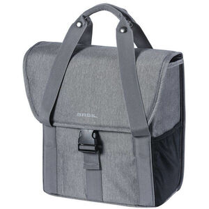 Basil GO Single Pannier Bag 16l Women grey melee grey melee