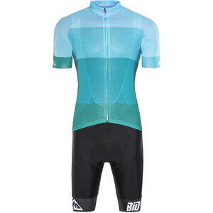 Red Cycling Products Colorblock Race Set Herren green-blue green-blue