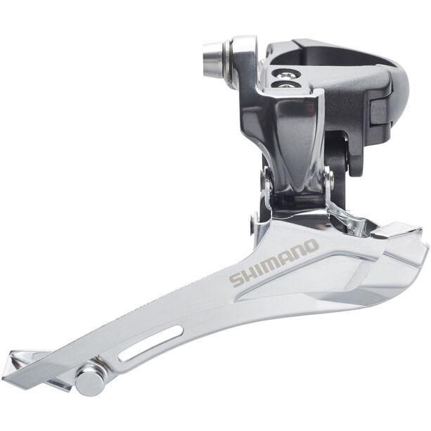 Shimano FD-CX70 Umwerfer 2x10-fach Schelle Down-Pull grau