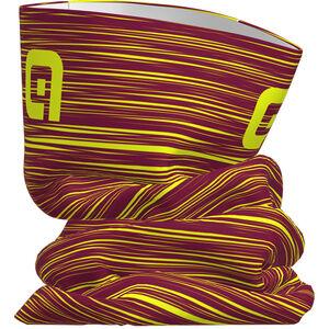Alé Cycling The End Tubular Headgear bordeaux-fluo yellow bordeaux-fluo yellow