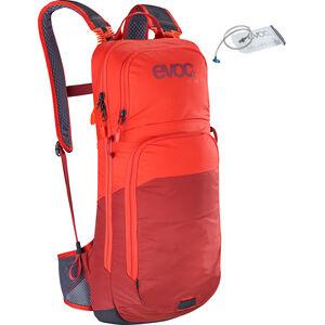 EVOC CC Backpack 10l + Bladder 2l Orange/Chili Red bei fahrrad.de Online