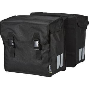 Basil Mara Doppel-Gepäckträgertasche 3XL 52l schwarz schwarz