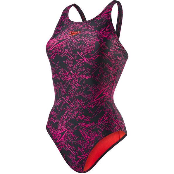 speedo Boom Allover Muscleback Swimsuit Women