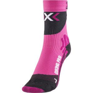 X-Socks Biking Pro Socks Damen fuxia/black fuxia/black