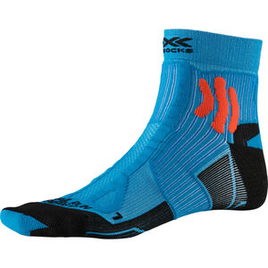 X-Socks Trail Run Energy Socks Herren teal blue/sunset orange teal blue/sunset orange