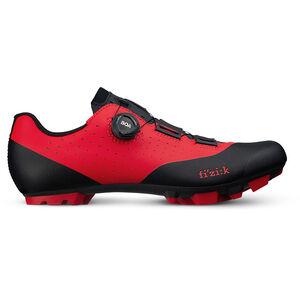 Fizik Vento Overcurve X3 MTB Schuhe rot/schwarz rot/schwarz
