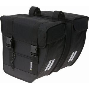 Basil Tour Double Pannier Bag 26l schwarz schwarz