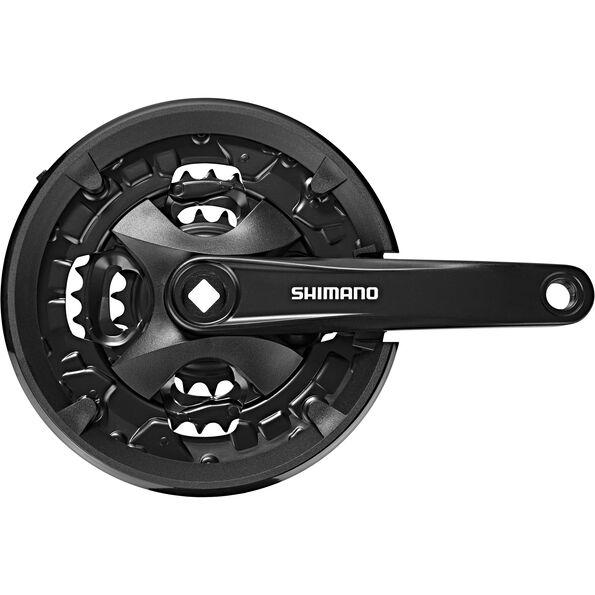 Shimano FC-MT101 Kurbelgarnitur 44/32/22 Zähne 3x9-fach
