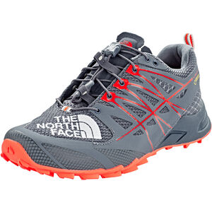5d0fc35991f577 The North Face Ultra MT II GTX Shoes Women grisaille grey fiery coral