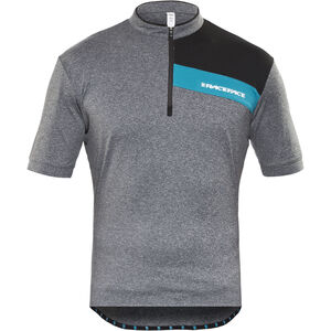 Race Face Podium Jersey Herren charcoal/turquoise charcoal/turquoise