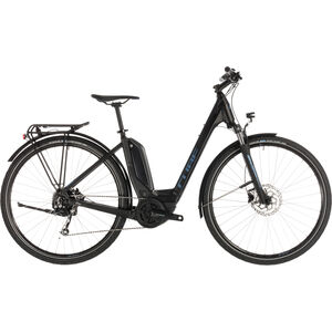 Cube Touring Hybrid ONE 400 Easy Entry Black'n'Blue bei fahrrad.de Online
