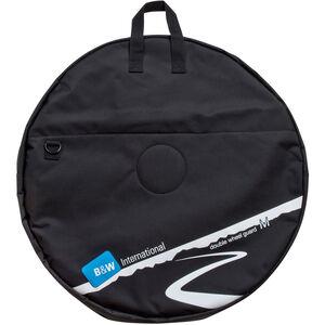 B&W International Double Wheel Guard Laufradtasche M black black