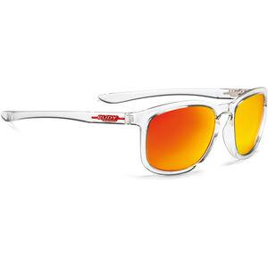 Rudy Project Soundwave Glasses Crystal Gloss/Multilaser Orange bei fahrrad.de Online