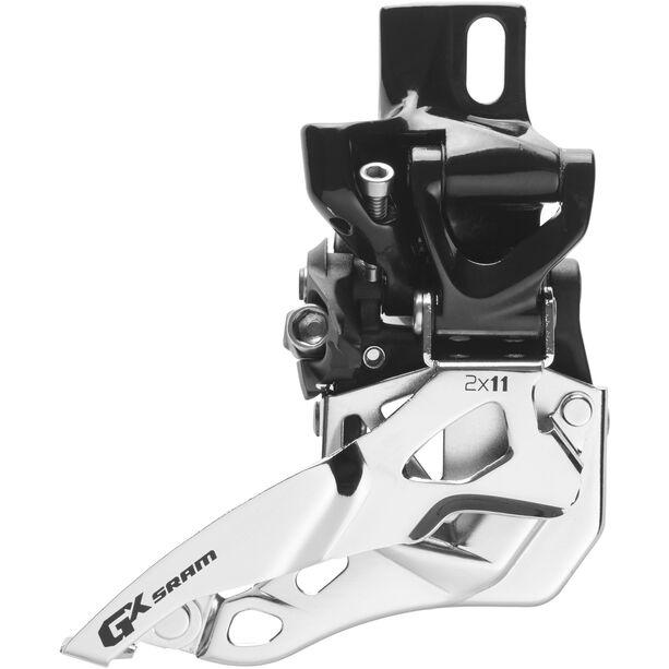 SRAM GX Umwerfer 2x11-fach High Direct Mount Top Pull schwarz/silber