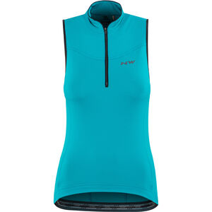 Northwave Muse Sleeveless Jersey Damen blue surfer blue surfer
