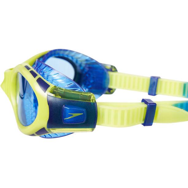 speedo Futura Biofuse Flexiseal Goggles Kinder new surf/lime punch/bondi blue