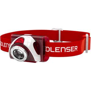 Led Lenser SEO 6 Stirnlampe red red
