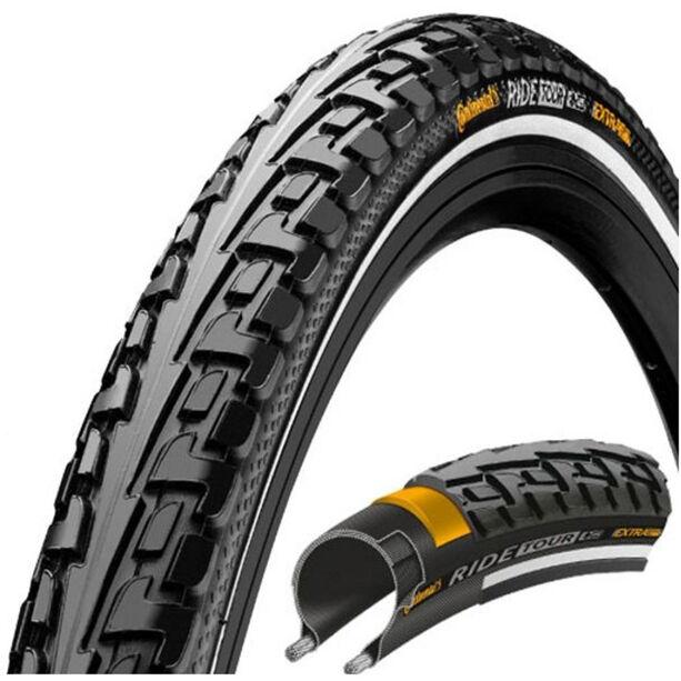 Continental Ride Tour Reifen 24 x 1,75 Zoll Draht Reflex schwarz/schwarz