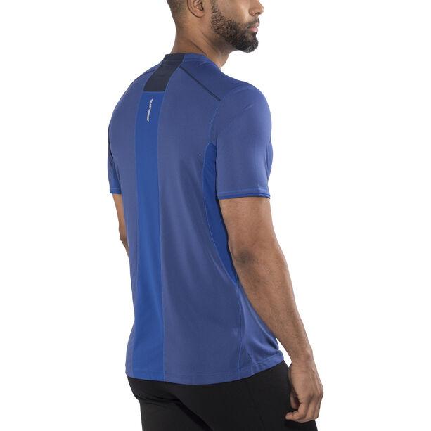 Salomon Trail Runner SS Tee Men Surf The Web/Dress Blue surf the web/dress blue