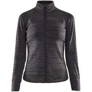 Craft Ideal Thermo Jersey Damen black melange black melange