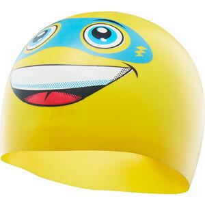 TYR Super Day Silicone Swim Cap yellow yellow