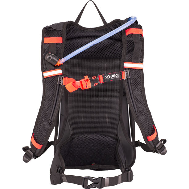 SOURCE Fuse Air Trinkrucksack 3+9l black/orange