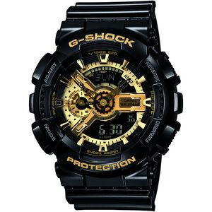 CASIO G-SHOCK GA-110GB-1AER Uhr Herren black/black/gold black/black/gold