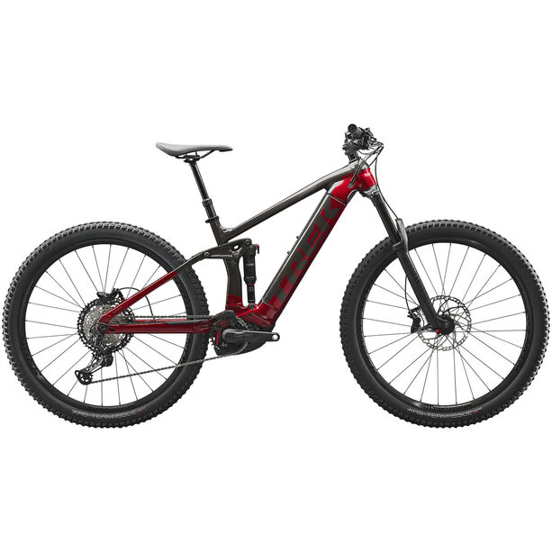 Trek Rail 7 dnister black/rage red