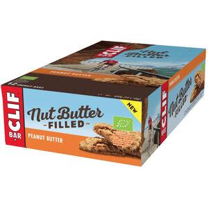CLIF Bar Nut Butter Filled Energy Bar Box Peanut Butter 12 x 50g