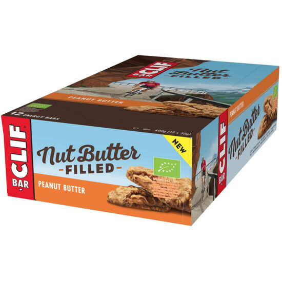 CLIF Bar Nut Butter Filled Energy Bar Box Peanut Butter 12 x 50g bei fahrrad.de Online