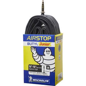 Michelin I4 Airstop Fahrradschlauch 14 Zoll schwarz