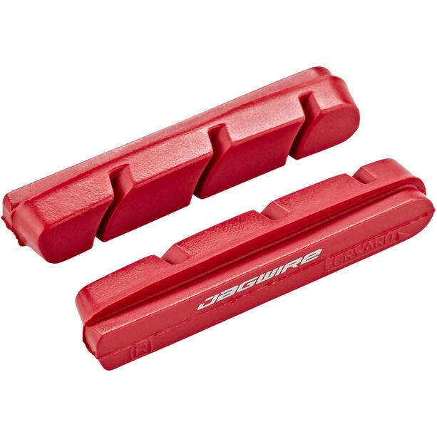 Jagwire Road Pro Wet Bremsbeläge für Campagnolo 1 Paar rot