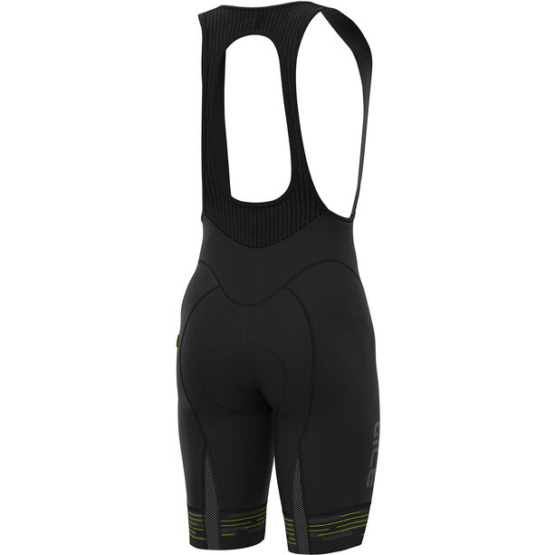 Alé Cycling Graphics PRR Match Bib Shorts Herren black flou yellow