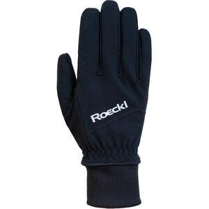 Roeckl WS Fahrrad Handschuhe black black