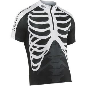 Northwave Skeleton Jersey SS black-white