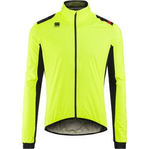 Sportful Hot Pack NoRain Jacket Men yellow fluo/black