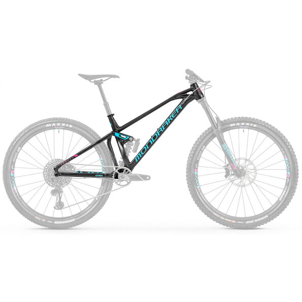 Mondraker Foxy XR 29 Frameset black/light blue/fuchsia