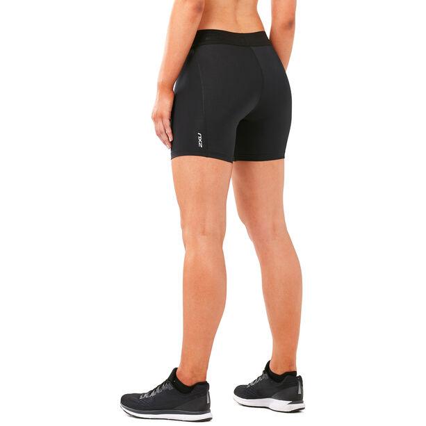 """2XU Accelerate Compression 5"""" Shorts Damen black/silver"""