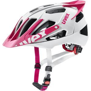 UVEX Quatro Pro Helmet white-pink matt bei fahrrad.de Online
